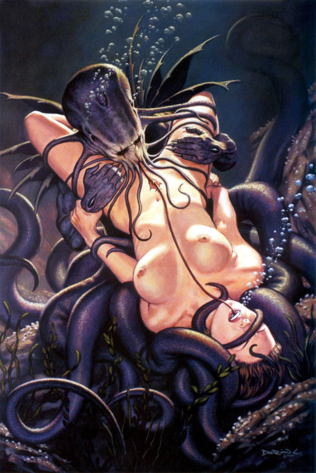 Demon erotic art erotic scenes